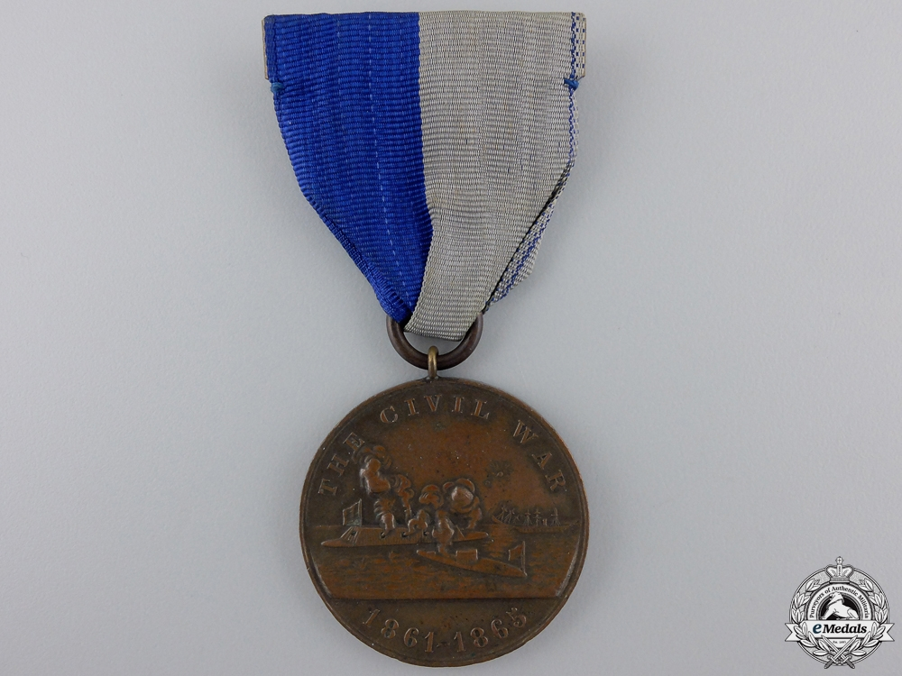 eMedals-An American Civil War Naval Campaign Medal to U.S.S. Lenapee