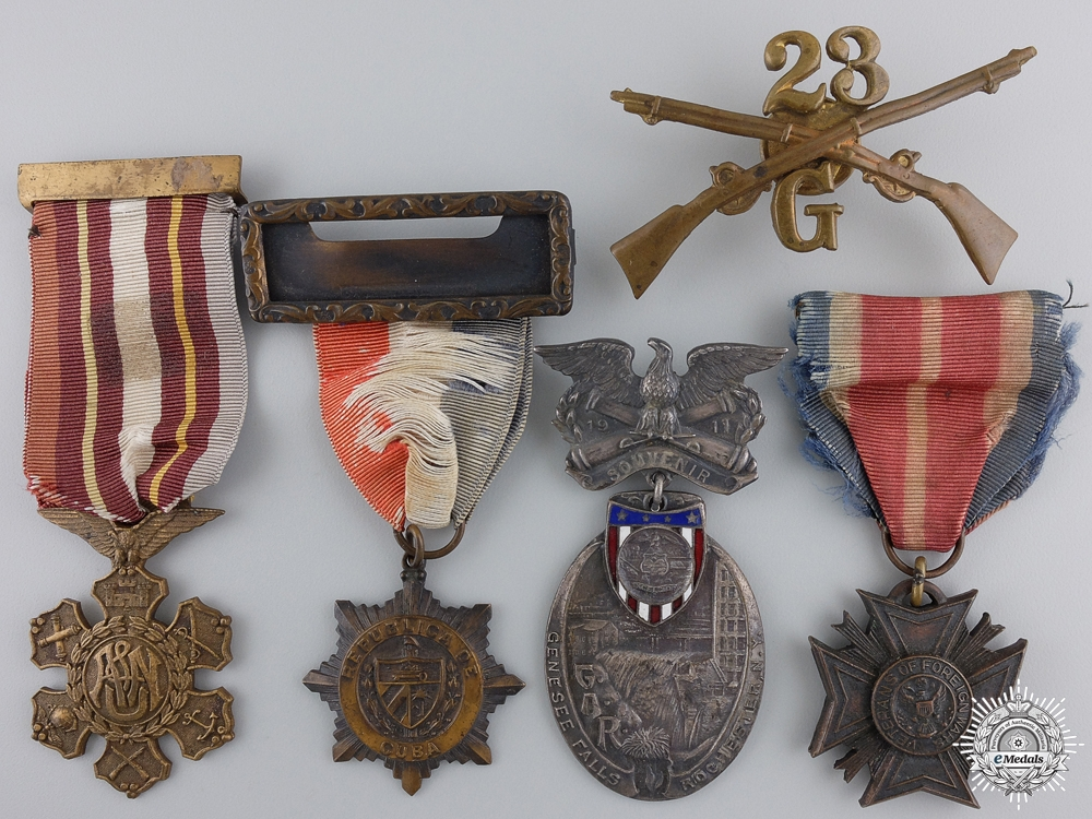eMedals-An American Foreign Wars Veteran's Medals
