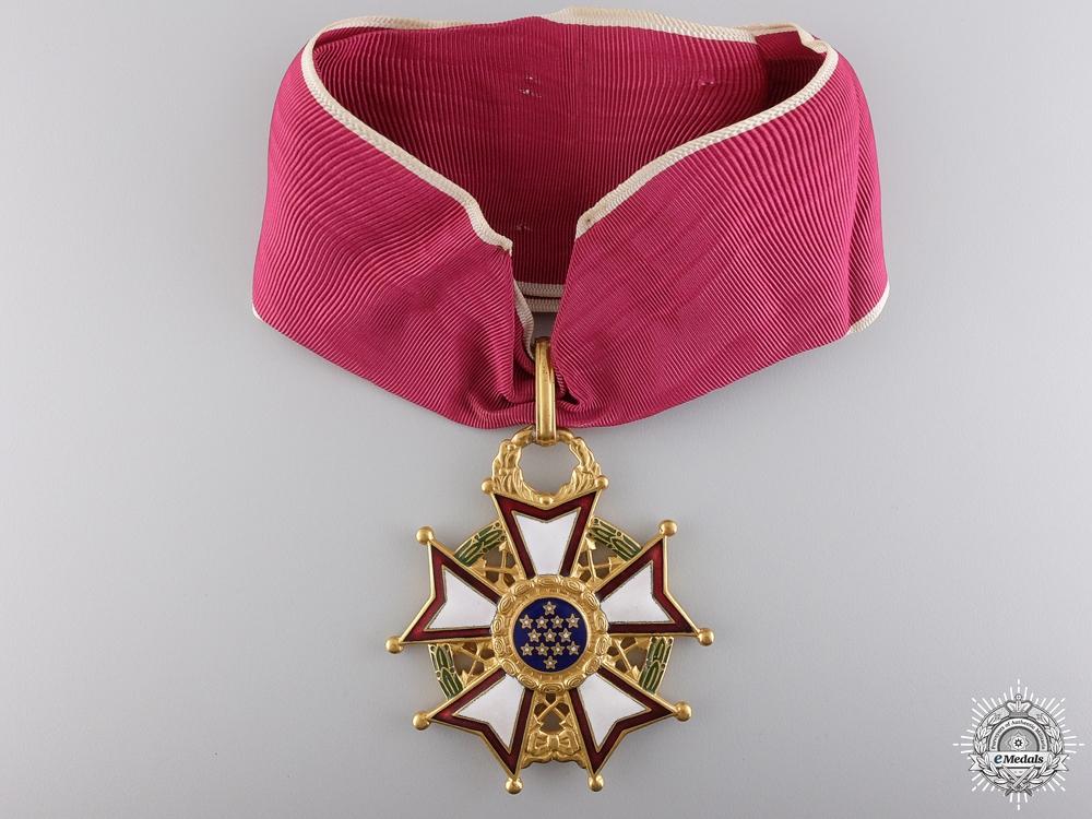 eMedals-An American Legion of Merit; Commander`s Neck Badge