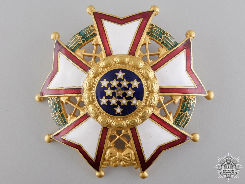 eMedals-An American Legion of Honour; Chief Commander Breast Star