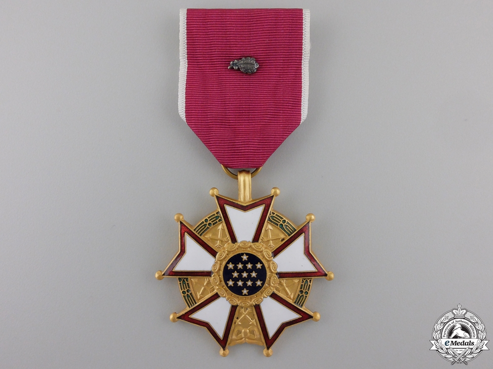 eMedals-An American Legion of Merit; Legionnaire Grade with Oak Cluster