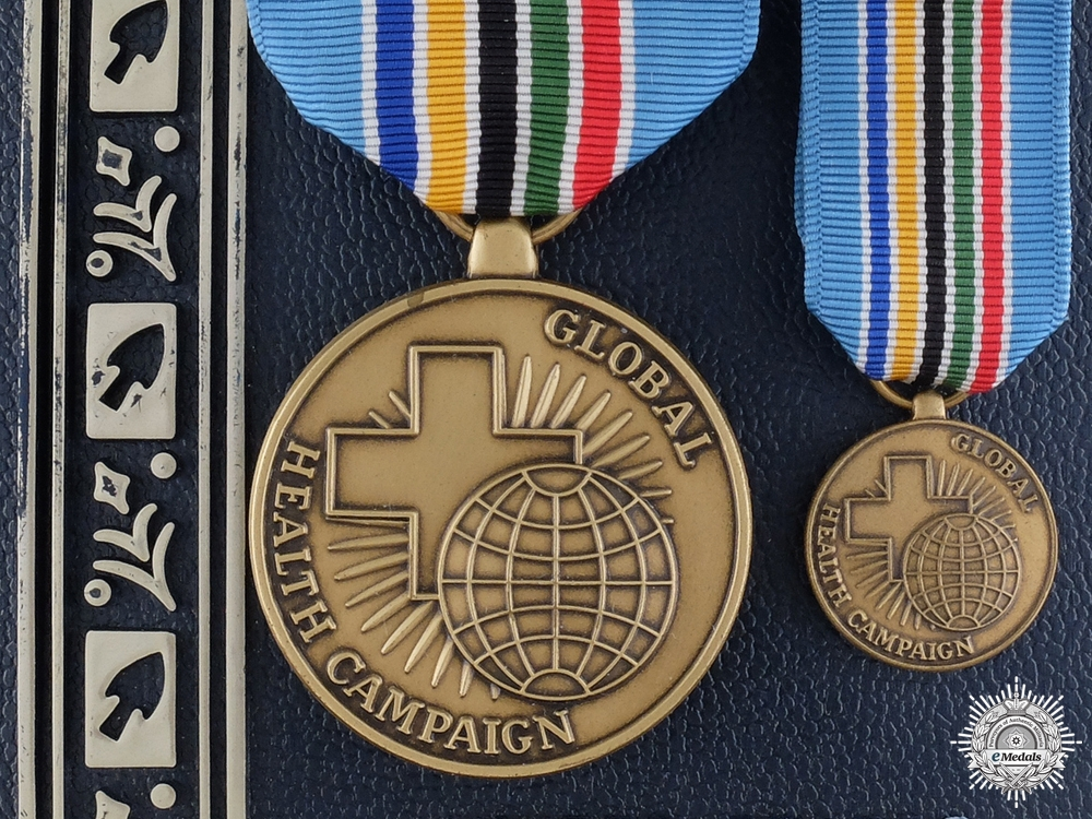 eMedals-An American Public Health Service Global Health Campaign Medal