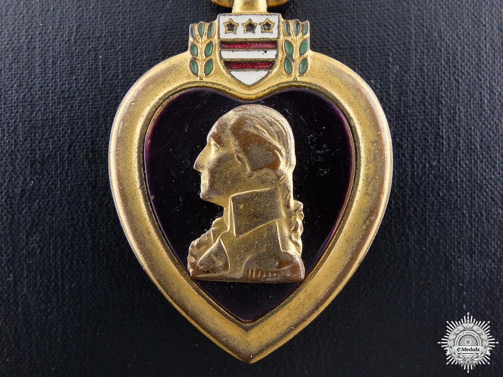 eMedals-An American Purple Heart in Case of Issue