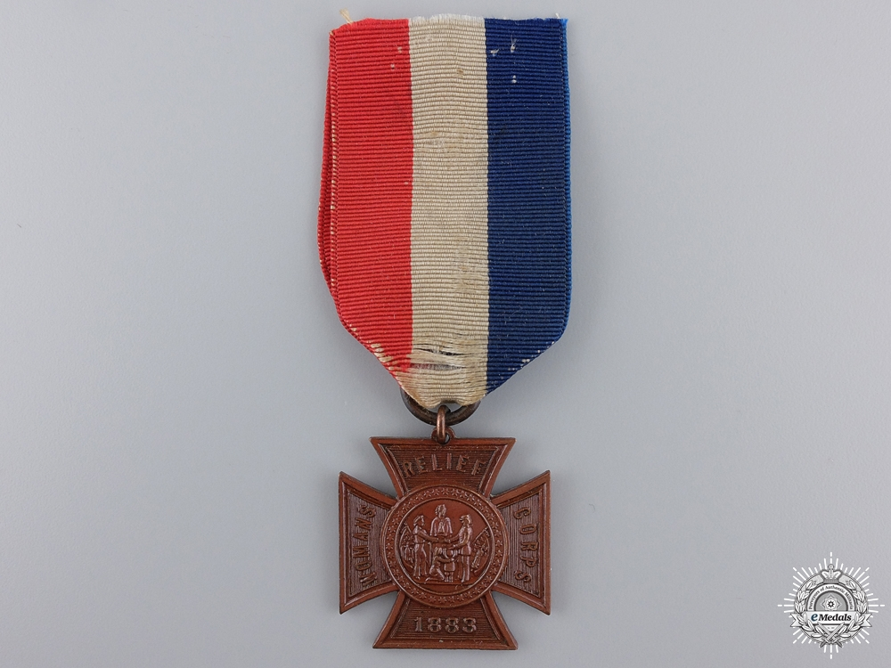 eMedals-An American Woman's Relief Corps Membership Medal