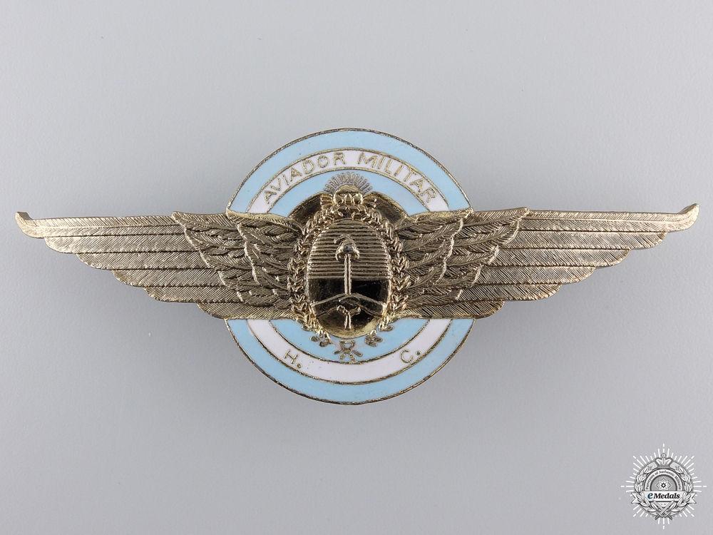 eMedals-An Argentinian Pilots Badge