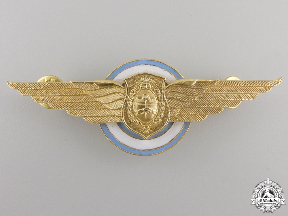 eMedals-An Argentinian Pilot Wing