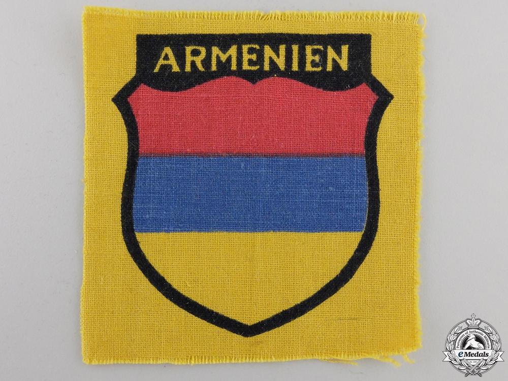 eMedals-An Armenian Volunteers Arm Shield