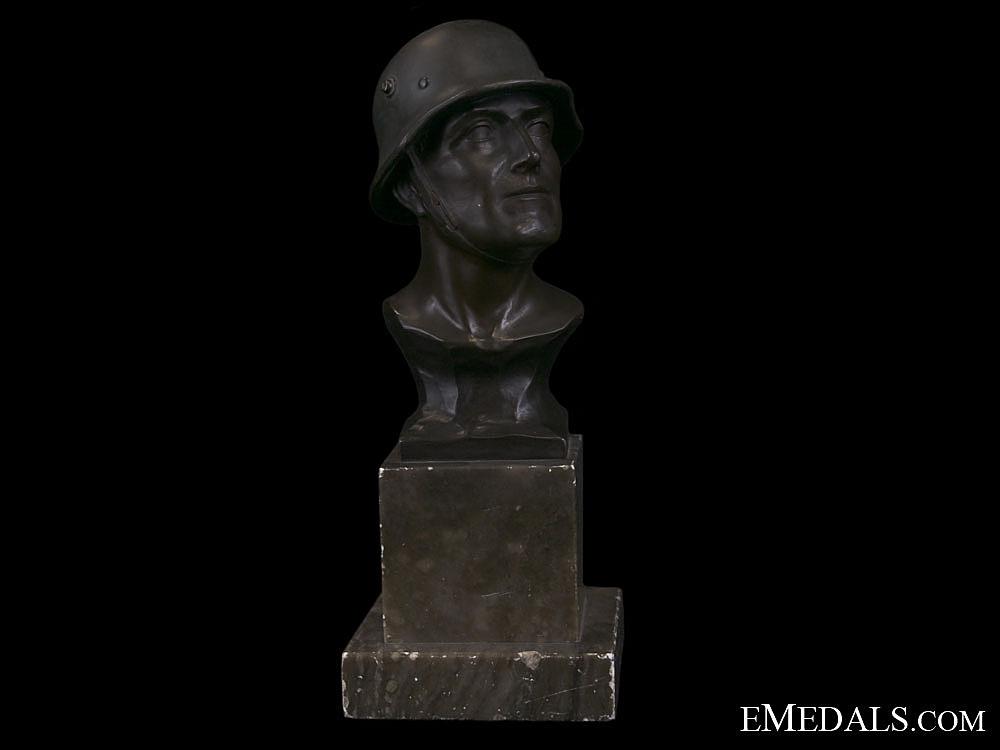 eMedals-An Army (Heer) Bronze Statue