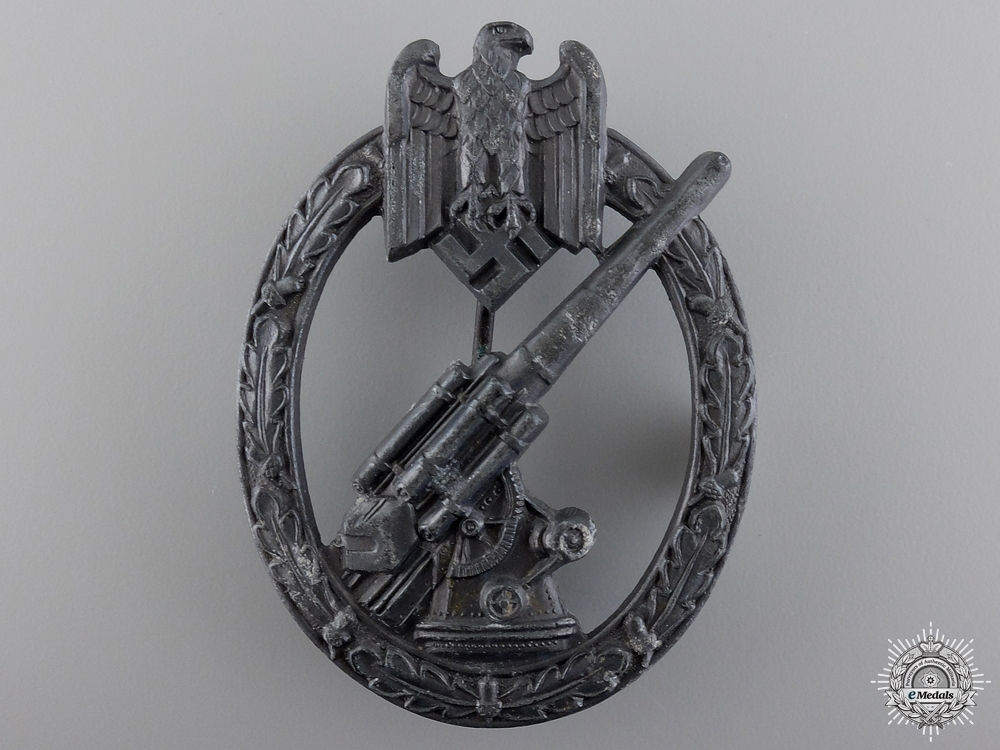 eMedals-An Army Flak Badge by C.E. Juncker