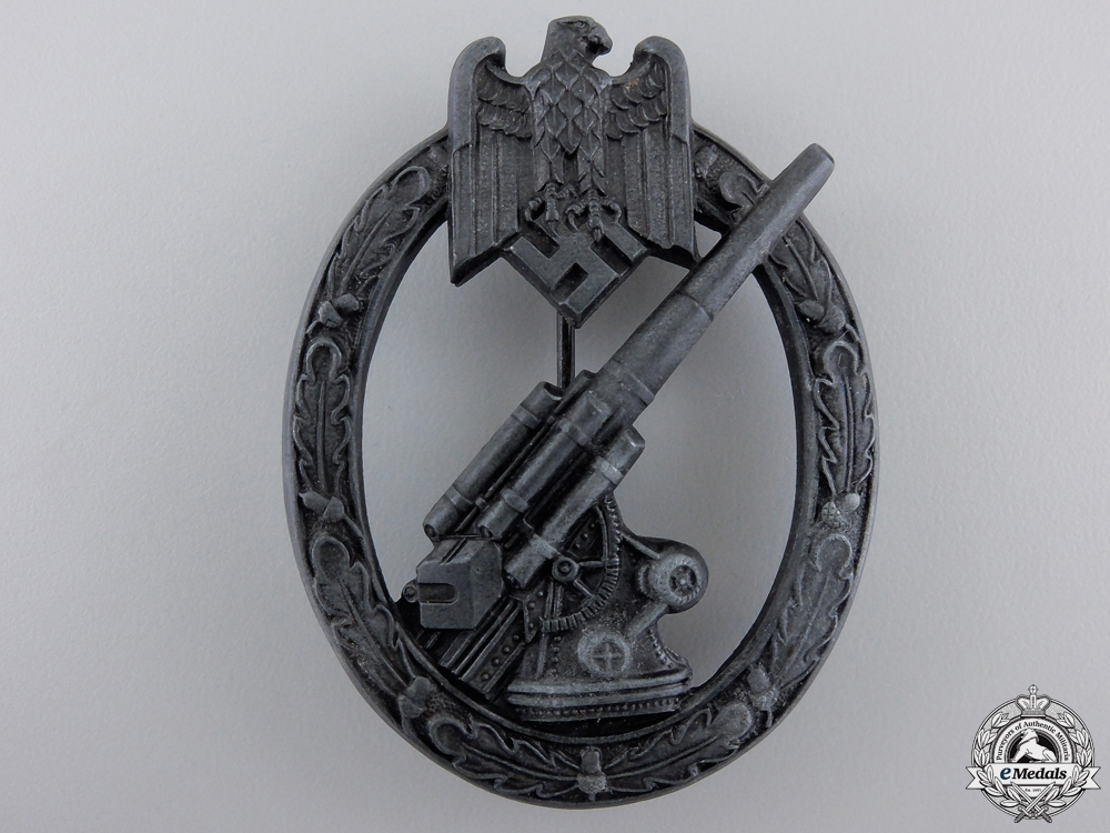 eMedals-An Army Flak Badge by Herman Aurich