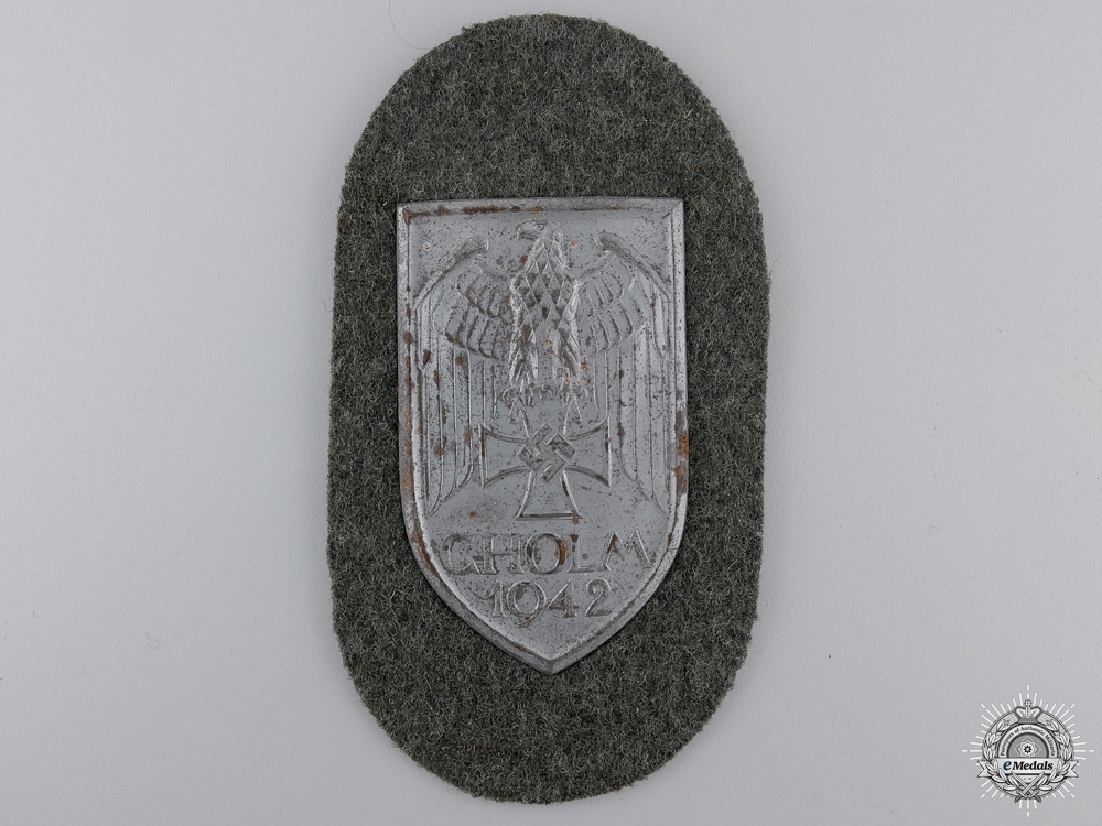 eMedals-An Army Issued Cholm Campaign Shield
