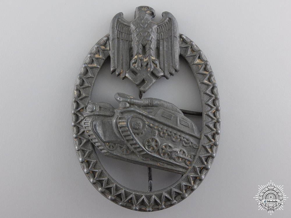 eMedals-An Army Tank Badge for the Panzer Lanyard