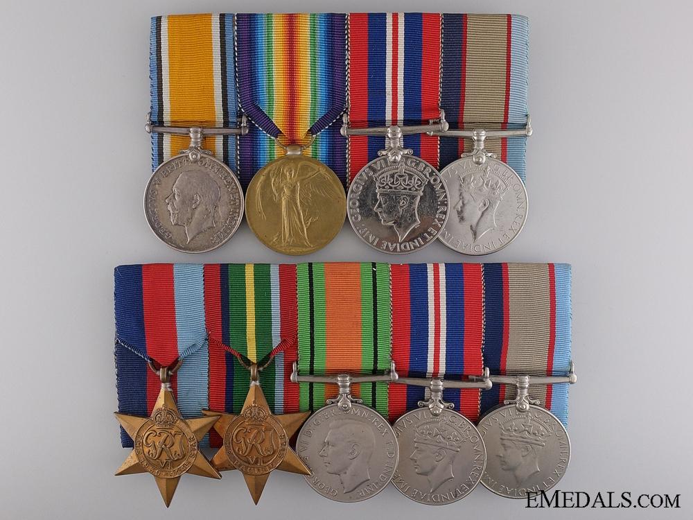eMedals-An Australian Father & Son Second War Medal Bar Pair