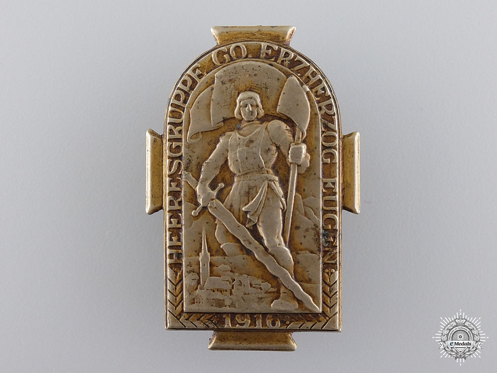 eMedals-An Austrian Archduke Eugen Army Group Badge