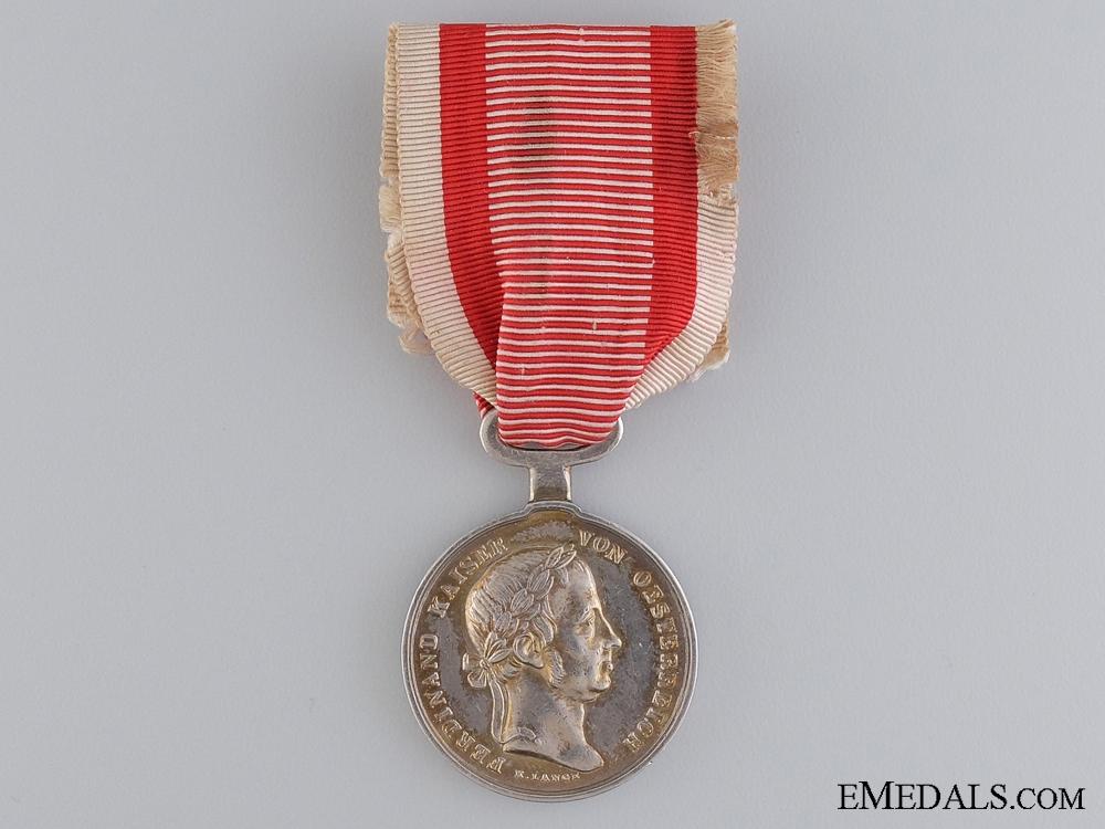eMedals-An Austrian Bravery Medal; 1839-1849