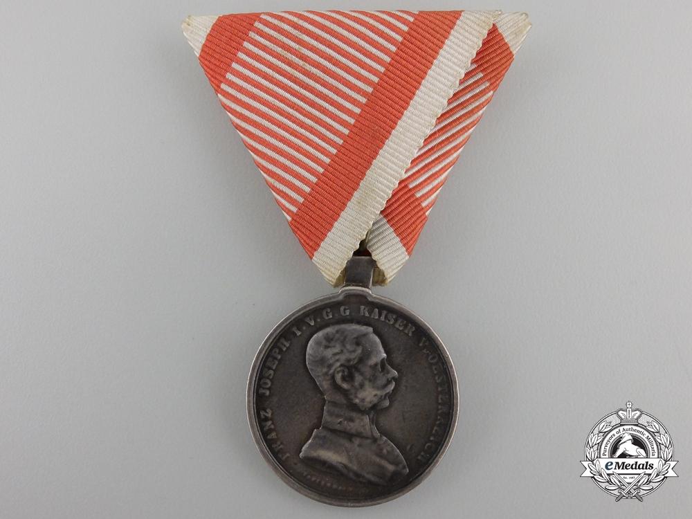 eMedals-An Austrian Bravery Medal; 2nd Class Silver Grade