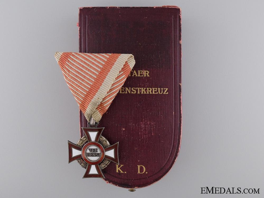 eMedals-An Austrian Cased Military Merit Cross; Third Class