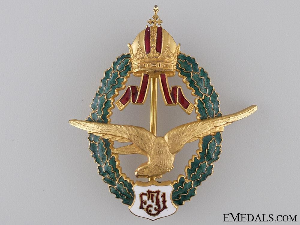 eMedals-An Austrian Field Pilot Badge c.1940 Manufacture