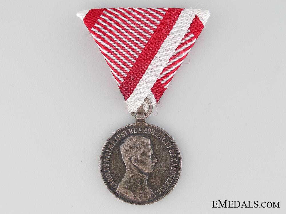 eMedals-An Austrian First War Bravery Medal