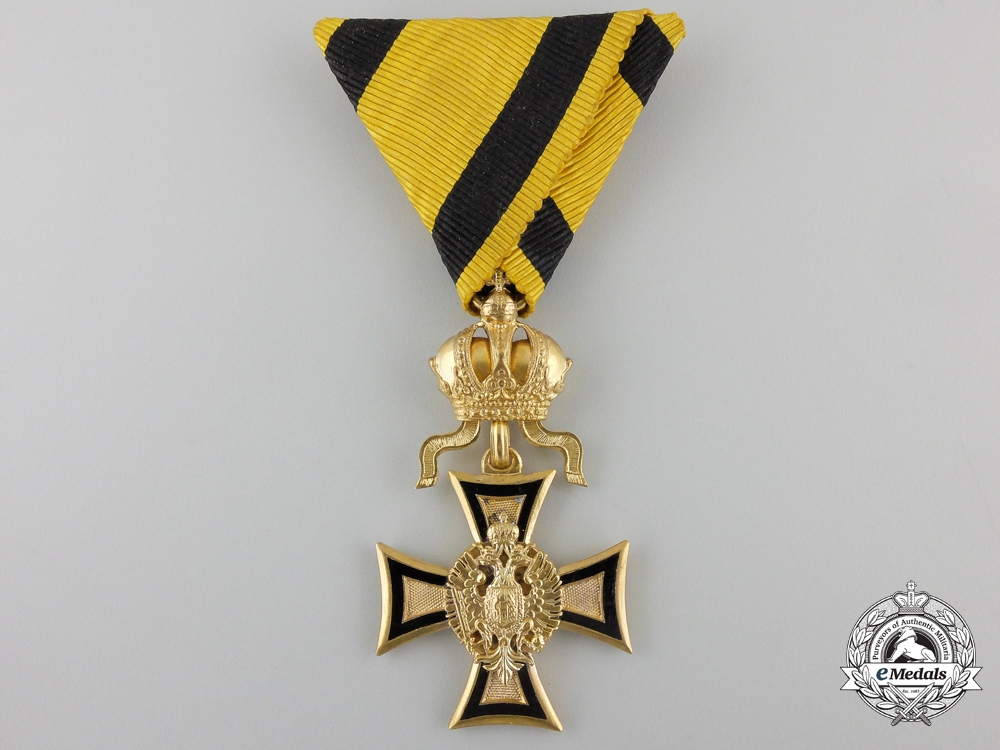 eMedals-An Imperial Austrian First Class Long Service Cross for 50 Years Service