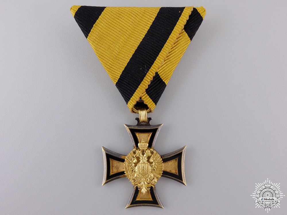 eMedals-An Austrian Long Service Cross 2nd Class in Solid Gold