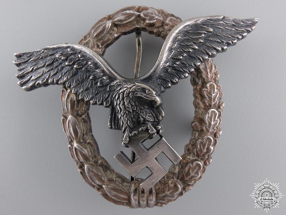 eMedals-An Austrian Made Pilot's Badge by Brüder Schneider A.G Wien