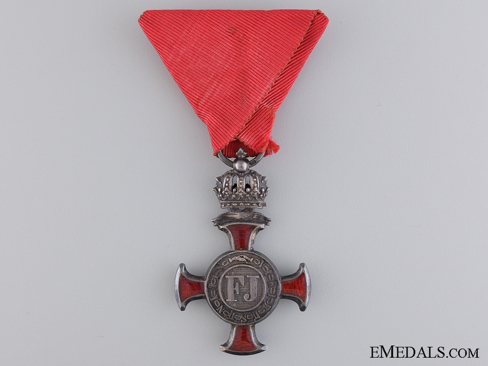 eMedals-An Austrian Merit Cross 1849; 4th Class by F.Braun