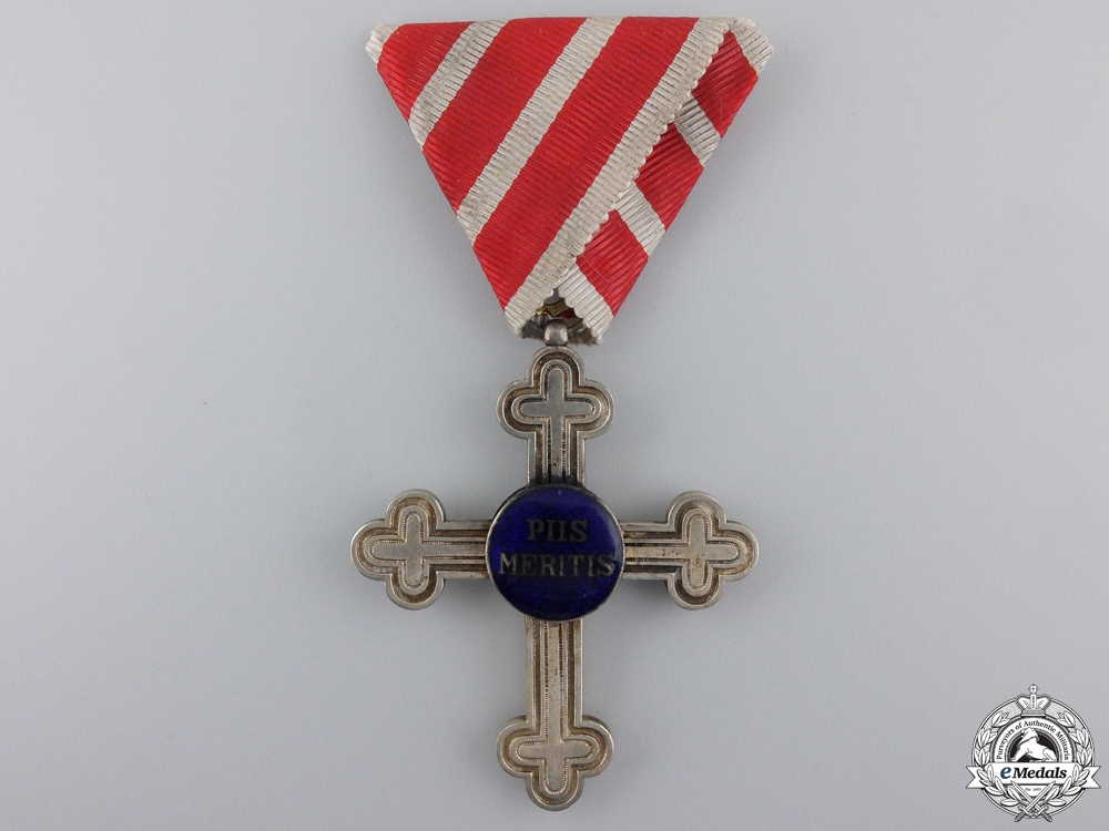 "eMedals-An Austrian Merit Cross ""Piis Meritis"" for Military Chaplains"