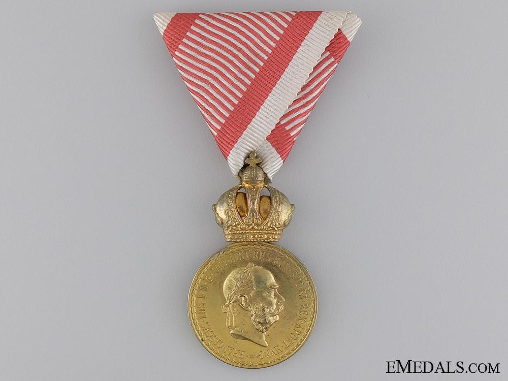 "eMedals-An Austrian Military Merit Medal ""Signum Laudis""; Bronze Grade,"