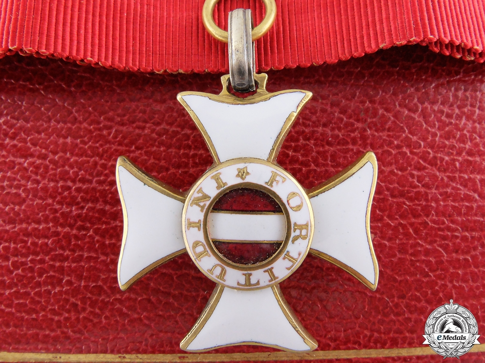 eMedals-An Austrian Military Order of Maria Theresa
