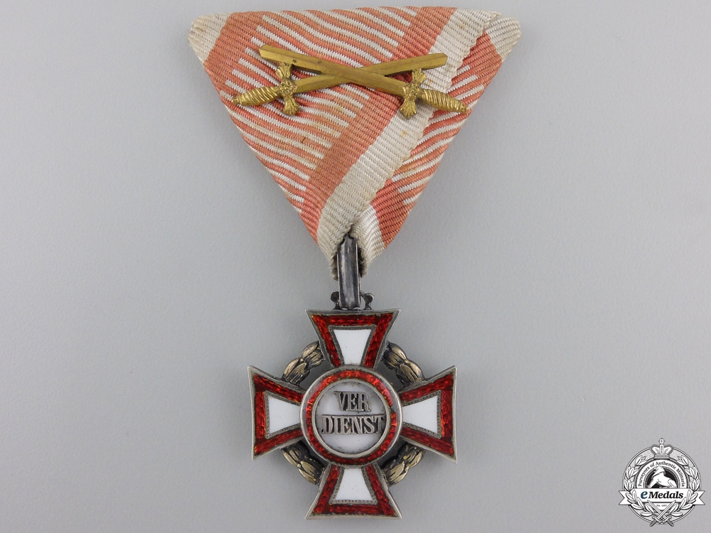 eMedals-An Austrian Military Merit Cross with War Decoration
