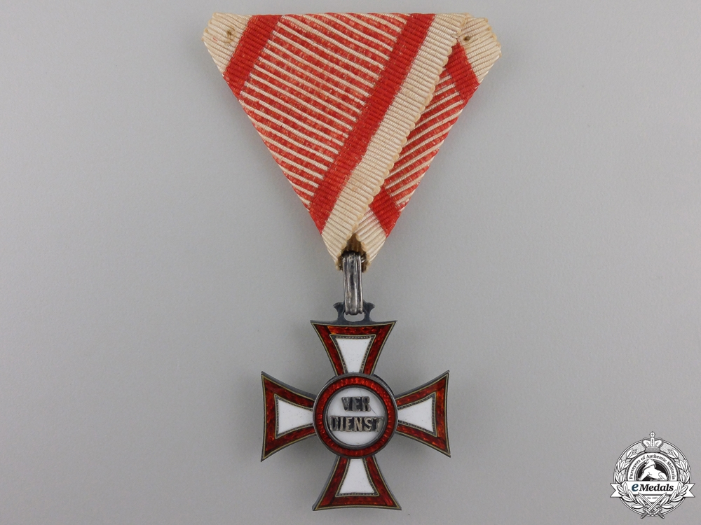 eMedals-An Austrian Military Merit Cross by Rothe
