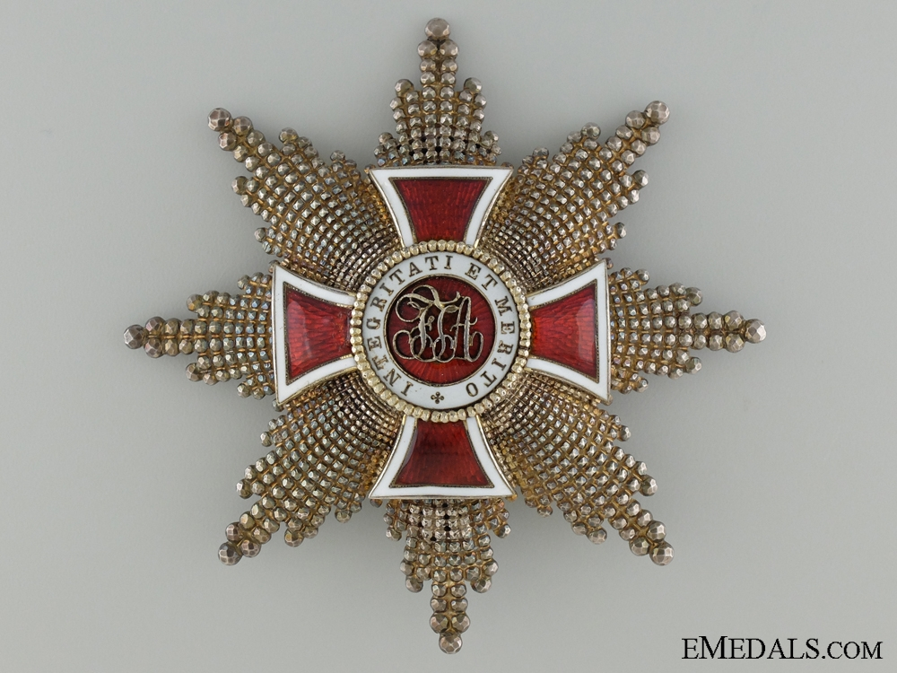 eMedals-Austrian Order of Leopold; Grand Cross Star