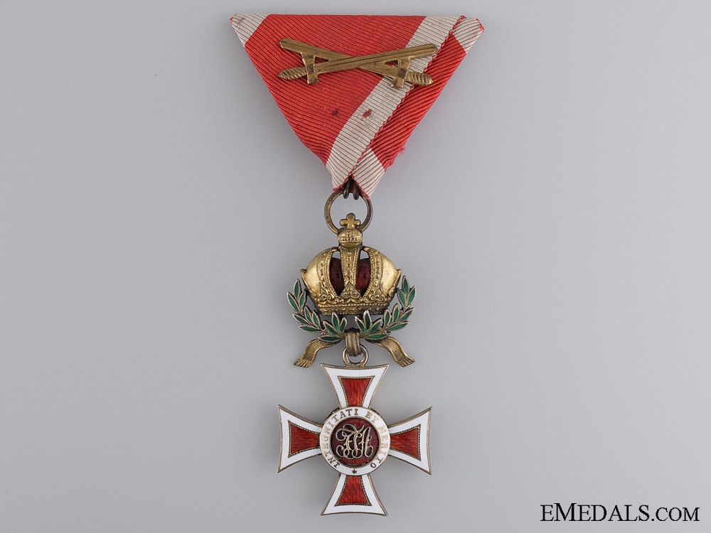 eMedals-An Austrian Order of Leopold with War Decoration