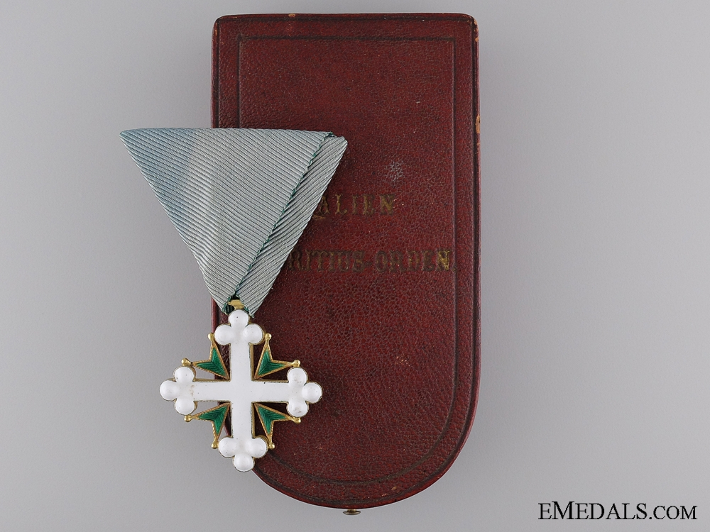 eMedals-An Austrian Order of St.Maurice and St.Lazarus by V. Mayer
