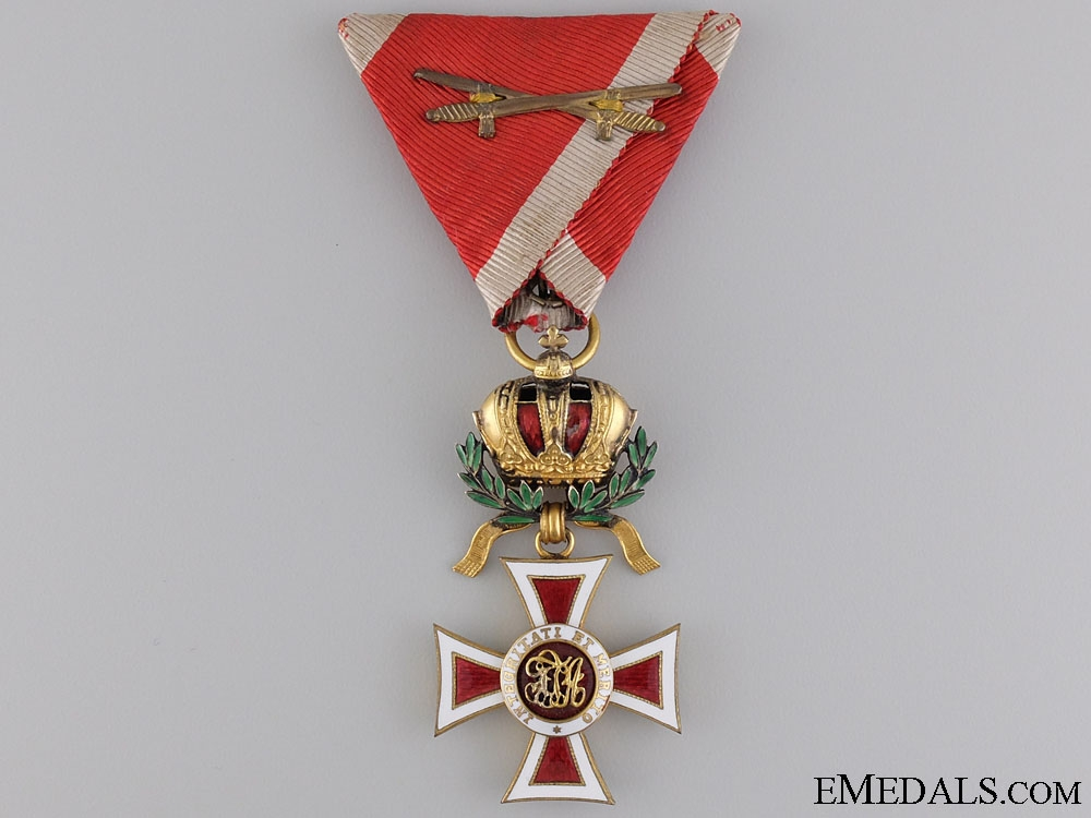 eMedals-An Austrian Order of Leopold; Knight with War Decoration