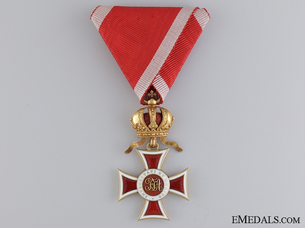 eMedals-An Austrian Order of Leopold in Gold by Rothe