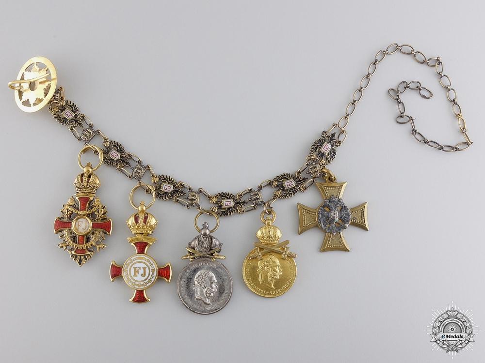 eMedals-An Austrian Order of Franz Joseph Miniature Set