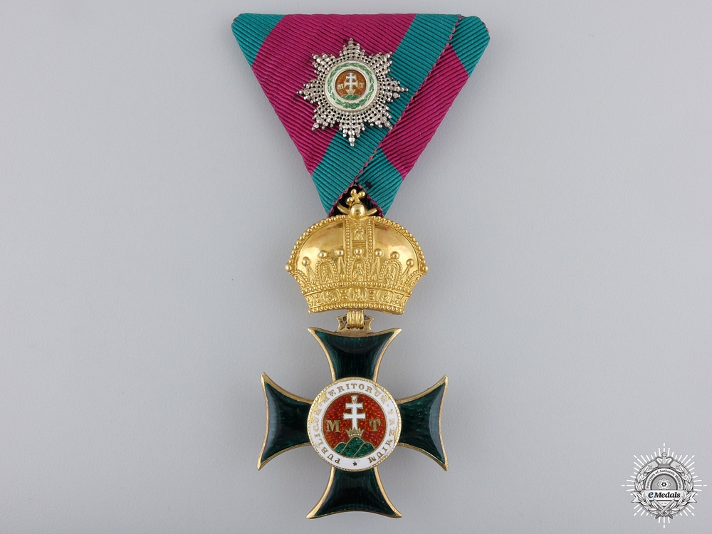 eMedals-An Austrian Order of St. Stephen by Rothe & Neffe; Knight's Cross c1880