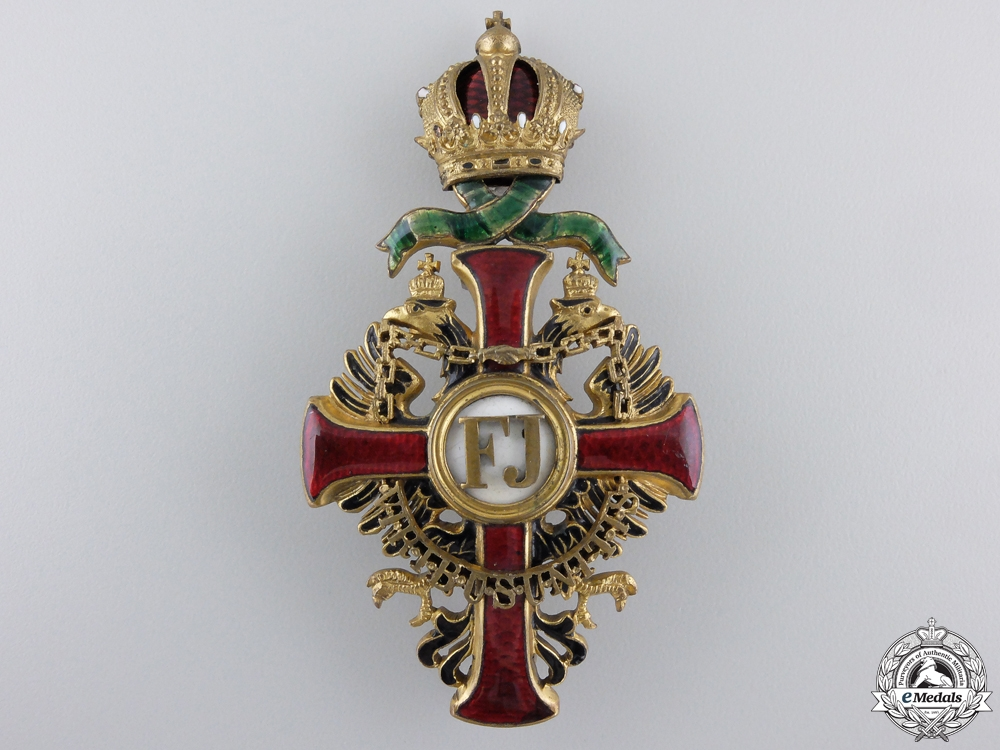 eMedals-An Austrian Order of Franz Joseph; Officer's Cross by Vinc Mayer