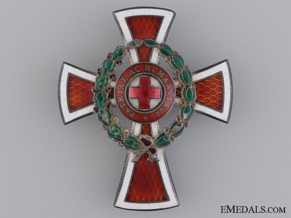 eMedals-An Austrian Red Cross Officer's Decoration 1864-1914