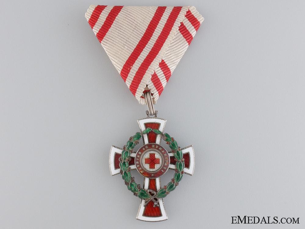 eMedals-Austria, Empire. A Red Cross Honour Decoration, II Class, by G.A. SCHEID