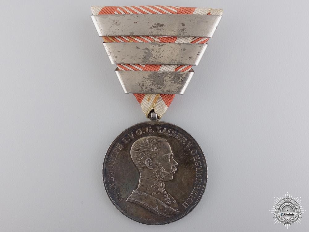 eMedals-An Austrian Silver Bravery Medal; 1st Class