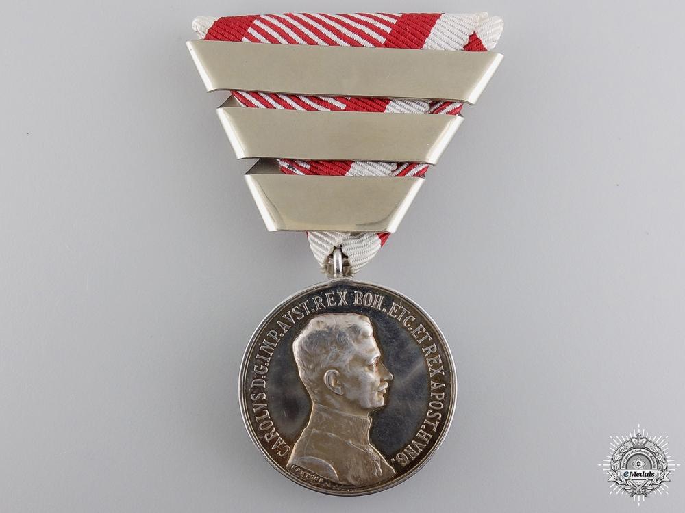 eMedals-An Austrian Silver Bravery Medal; First Class