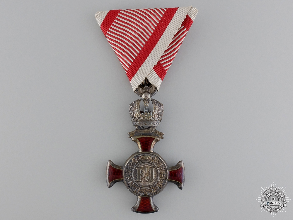 eMedals-An Austrian Silver Merit Cross by Kunz