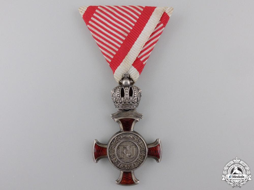 eMedals-An Austrian Silver Merit Cross by W.Kunz