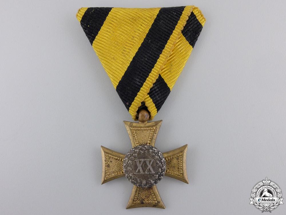 eMedals-An Austrian Twenty Year Long Service Cross
