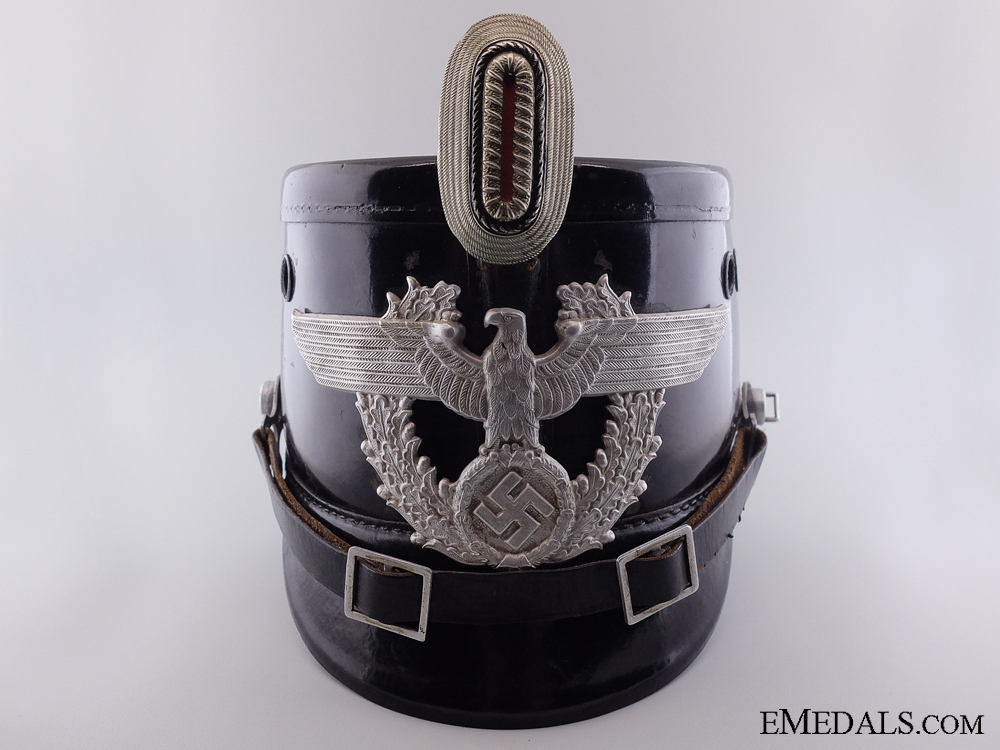 eMedals-An Auxiliary Police (Polizei) NCO's Shako