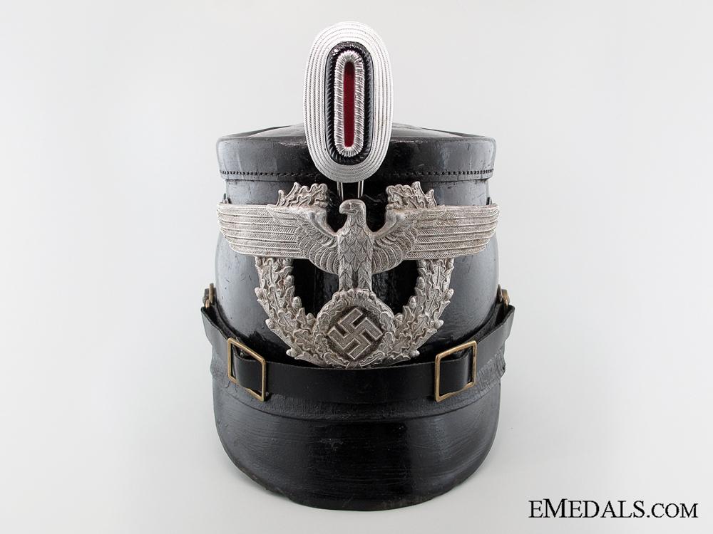 eMedals-An Auxliary Polizei NCO's Shako