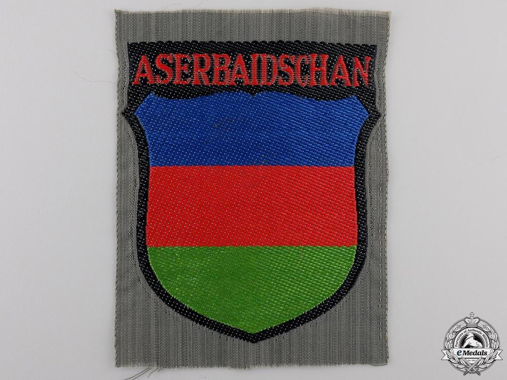 eMedals-An Azerbaijani Volunteers Arm Shield
